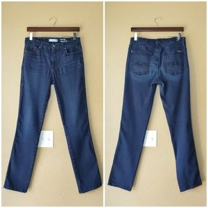 7 For All Mankind Kimmie Straight Leg Denim Jeans